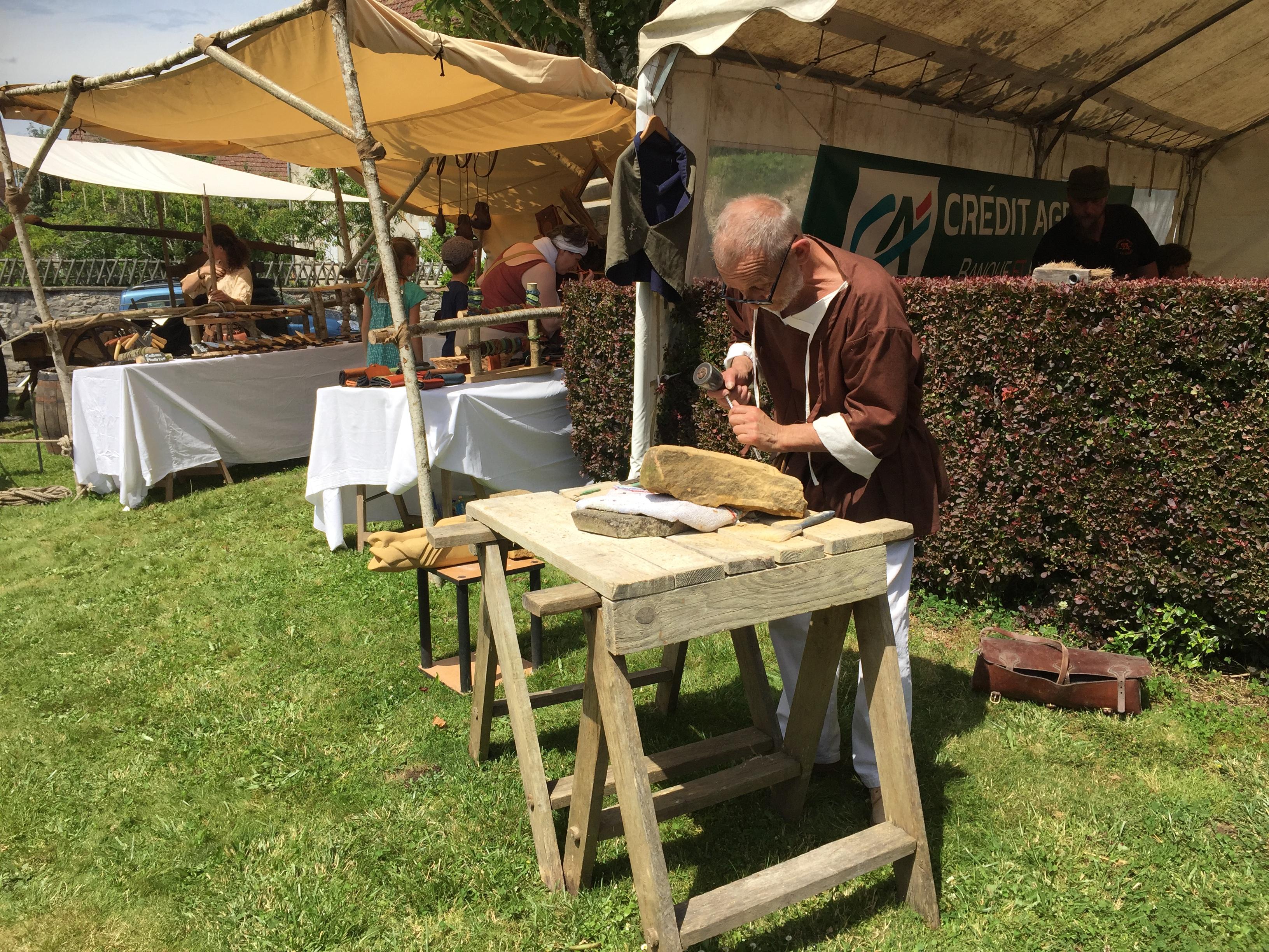Chal'Art - tailleur de pierre