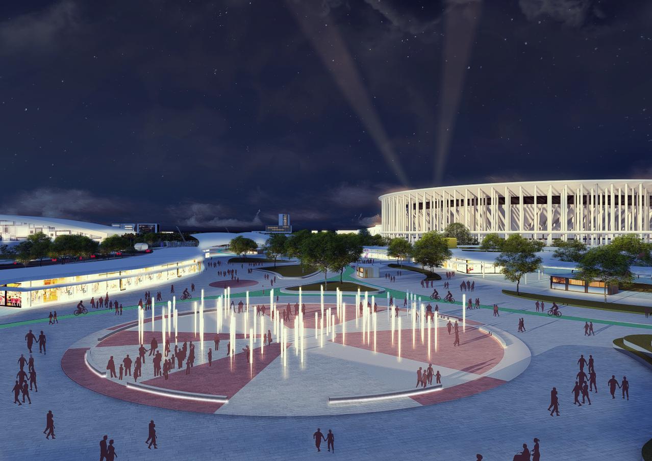Estádio da Cidade.