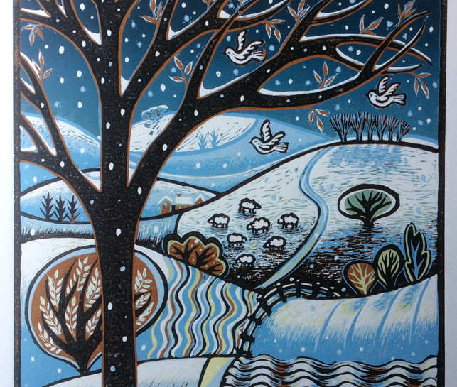 Snow on the Hills £260