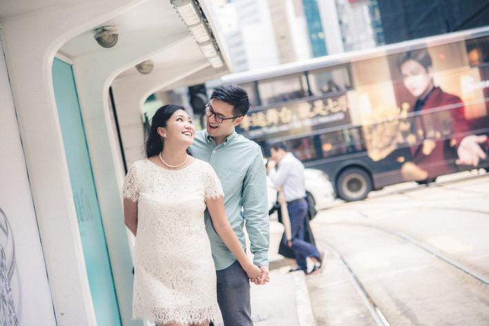 Hong Kong Engagement Session - Matthew & Katie