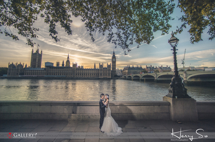Destination Pre-Wedding - London Priscilla & Alec