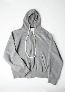 Pearl Necklace Hoodie