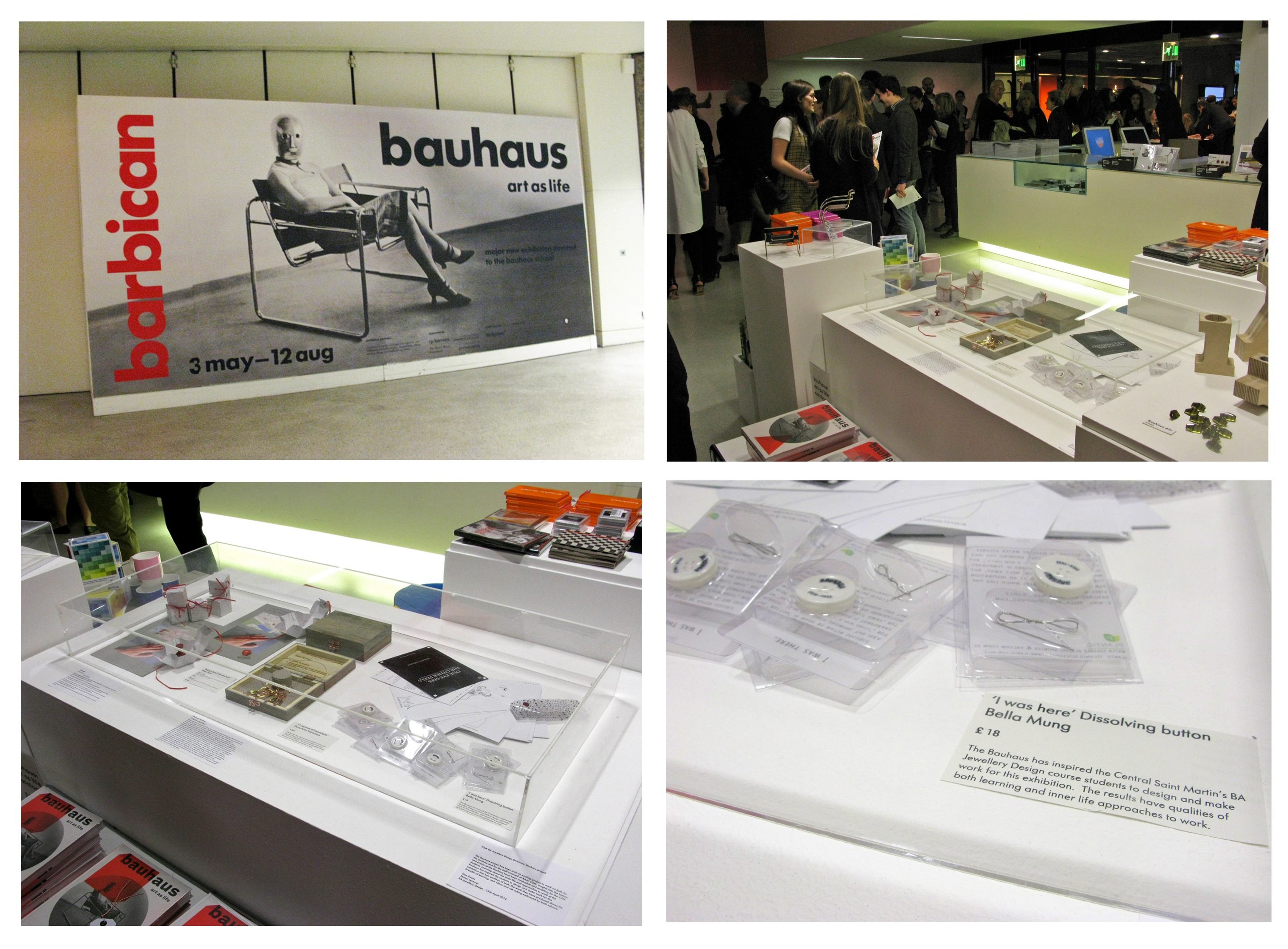 Bauhaus art as life exhibition