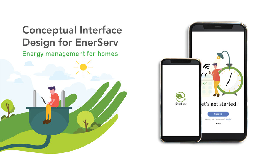 Conceptual Interface Design for EnerServ