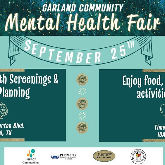 Garland Community Mental Health Fair