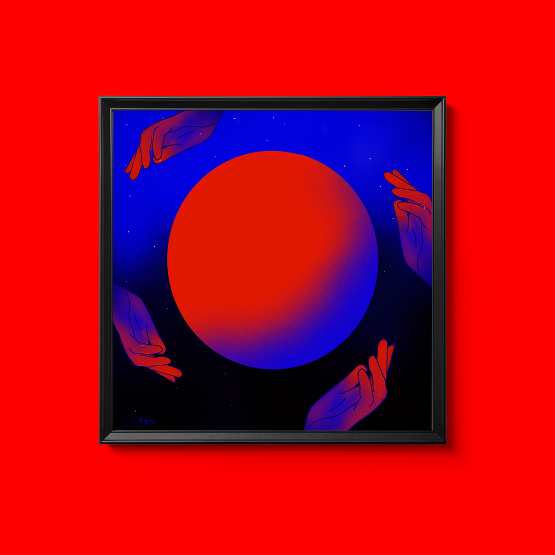 Red Moon Blue Sun Series