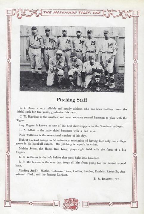 Morehouse Baseball Team 1925