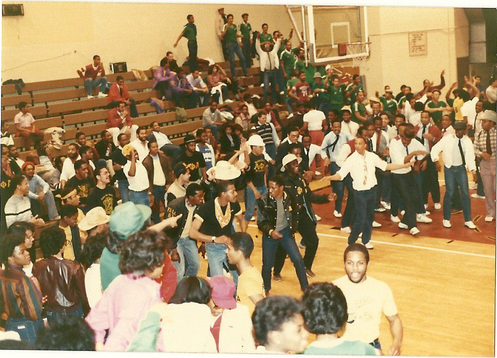 AP at Spirit Night in 1981