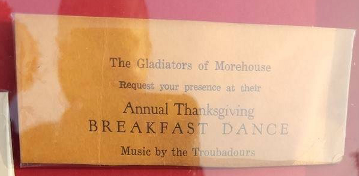 Gladiators of Morehouse AP Thanksgiving