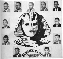 Alpha Rho Sphinxmen in 1944