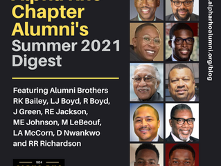 Alpha Rho Chapter Alumni's Summer 2021 Digest