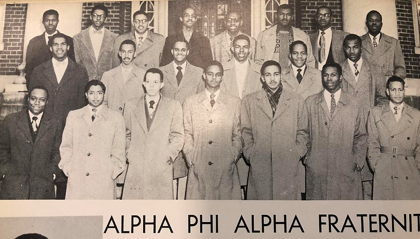 Alpha Rho in 1952.png