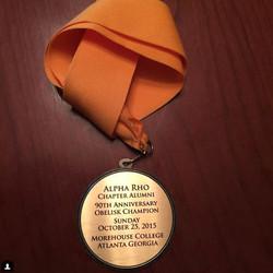 90th Anniversary Medallion 2015