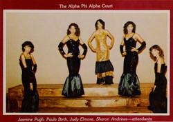 Alpha Rho Court 1982-83