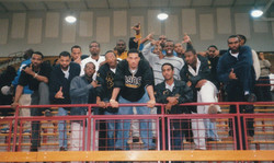 AP Brothers at Morehouse Basketball game (c. Feb. 2000)