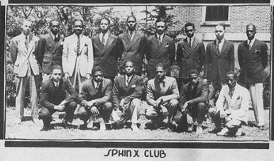 Sphinx Club 1937