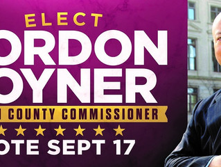 Brother Gordon Lane Joyner (Fall 1969) Launches Campaign To Return To Georgia's Fulton County Co