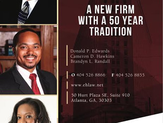 Brother Cameron Dion Hawkins (Fall 2003) Partners With Fellow Morehouse Alum Donald P. Edwards '