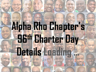 Alpha Rho Charter Day 2020 Please Save The Date:  Sunday, January 5, 2020