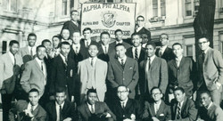 Alpha Rho Chapter in 1964