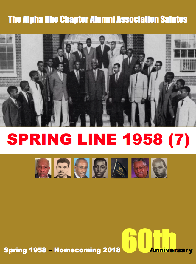 Spring 1958 60th Anniversary