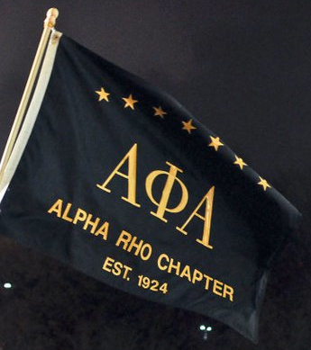 Alpha Rho Chapter Google logo