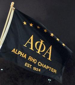 Alpha Rho Chapter Google logo