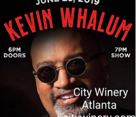 Brother Kevin Whalum (Fall 1987) To Headline At Atlanta City Winery June 23