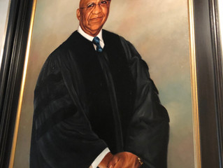 """The Honorable Brother John """"Jack"""" L. Ruffin, Jr. (Fall 1955) Receives MLK Chapel Portrait"""