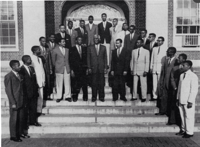 1958 w_ B.E. Mays all greeks