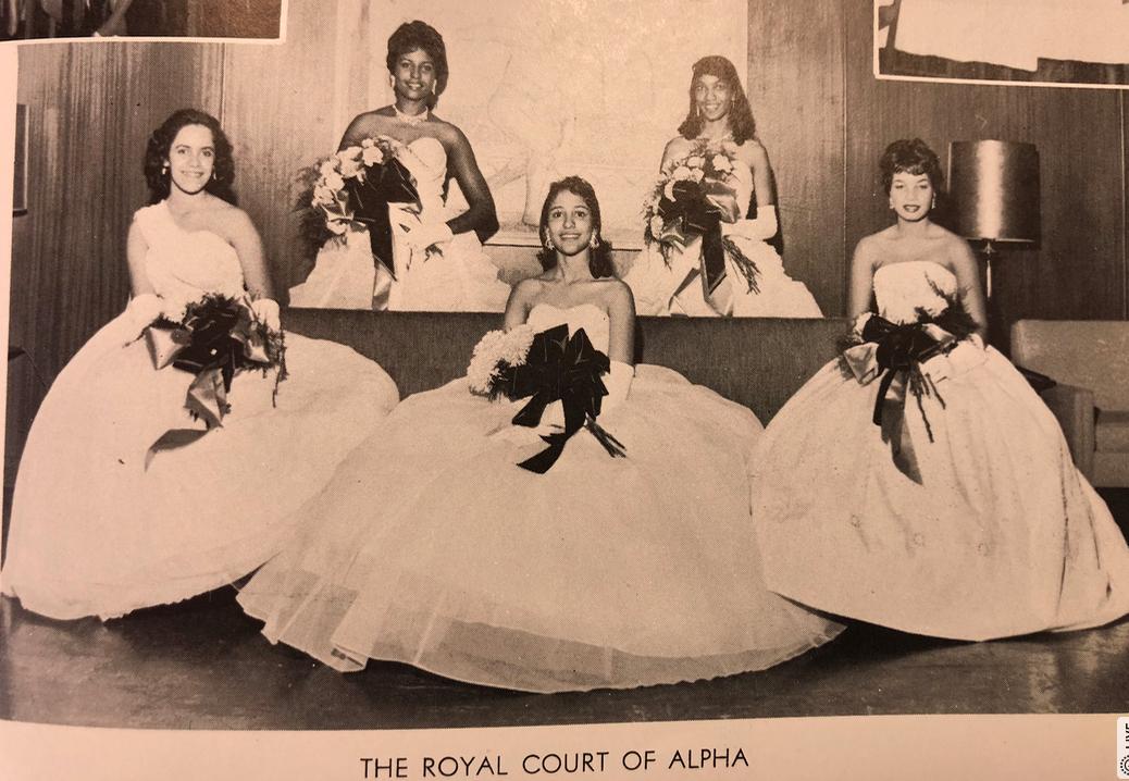 Alpha Rho Court 1960
