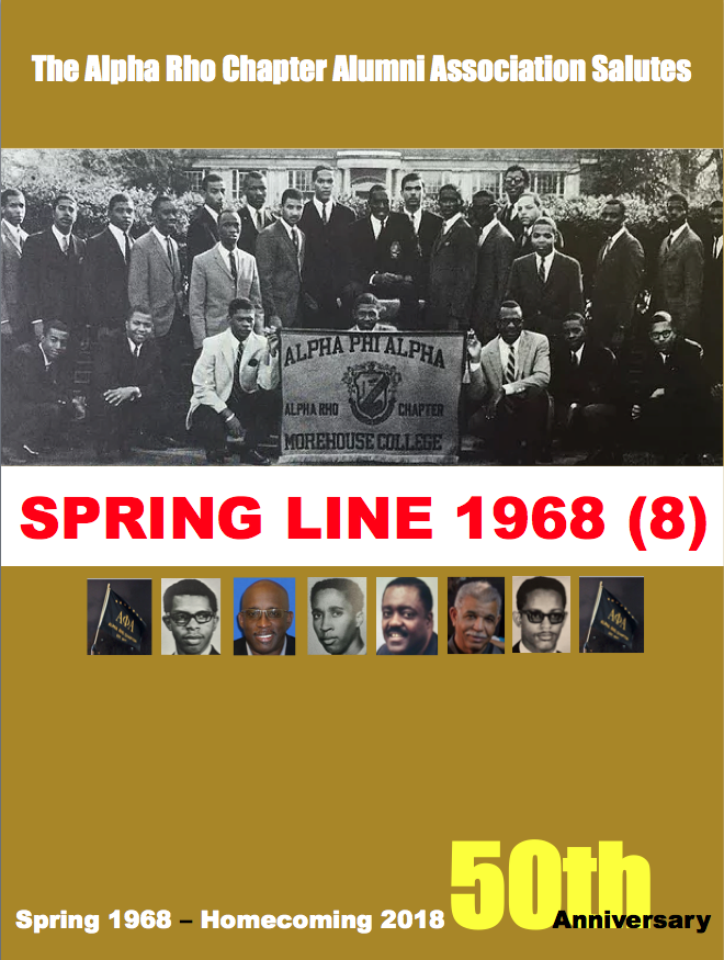 Spring 1968 50th Anniversary 2018