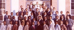 Alpha Rho Chapter in 1980
