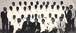Alpha Rho in 1986
