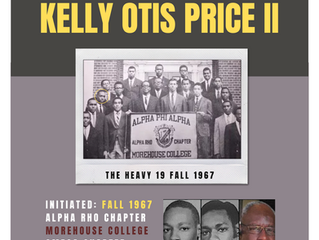 OMEGA CHAPTER ALERT FOR BROTHER KELLY OTIS PRICE II -- Fall 1967