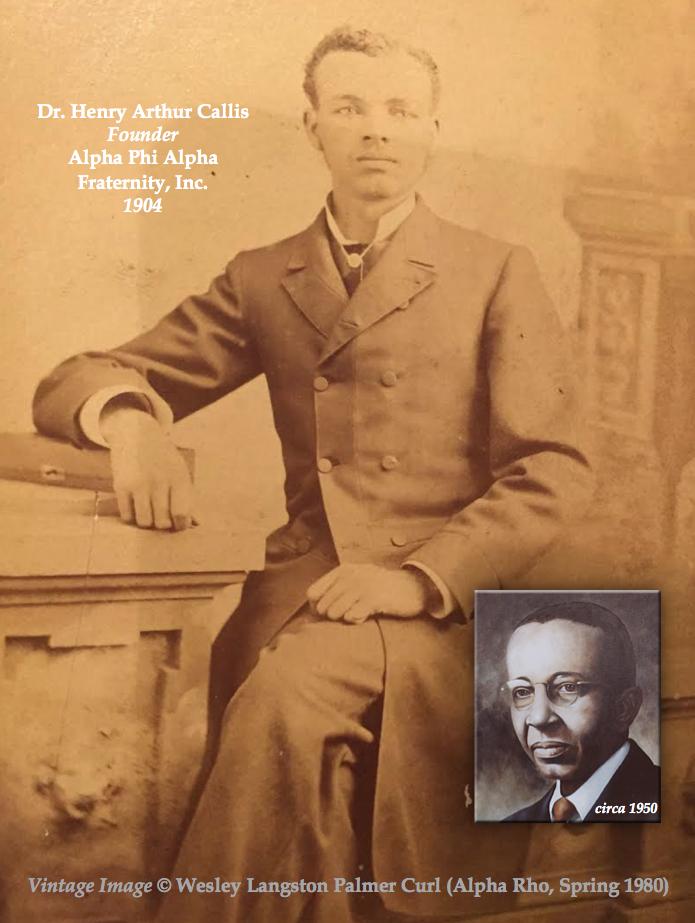 H.A. Callis composite image