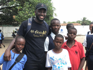UPDATED:  Brother Jeffrey Butler Wraps Spring Break Mission To Liberia, And Thanks The Brotherhood F