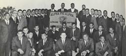 Alpha Rho in 1963