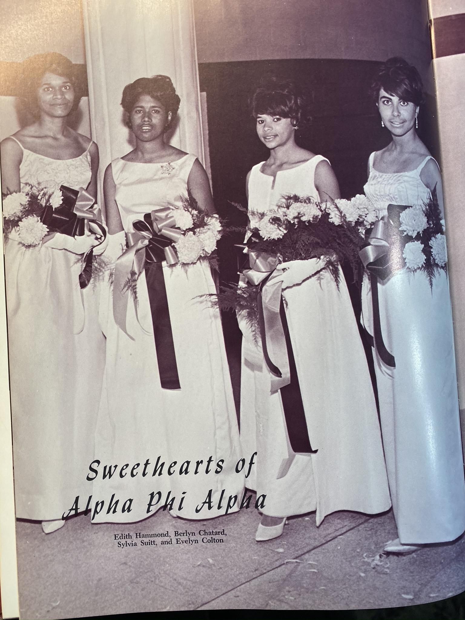 Alpha Rho Court 1964