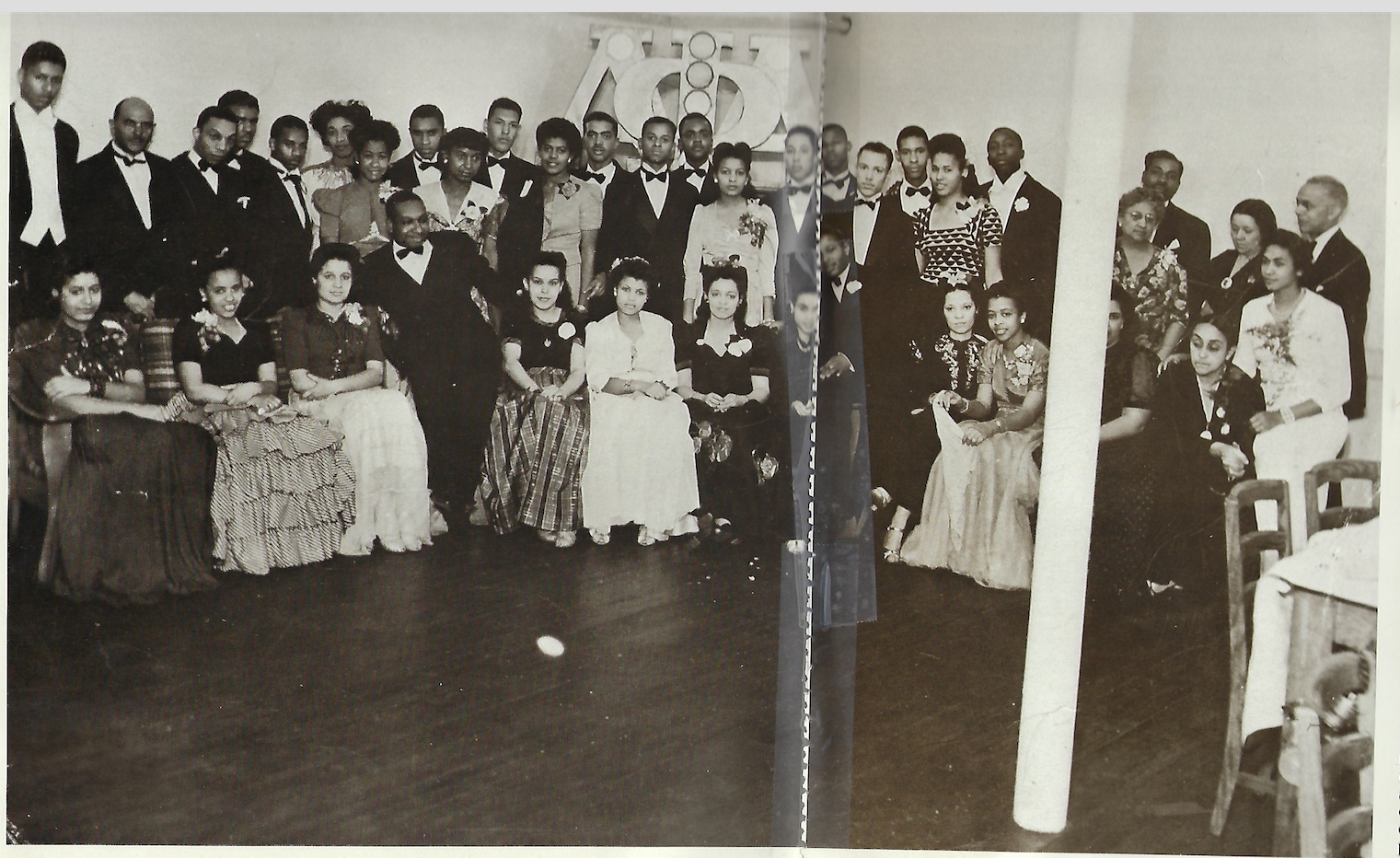Alpha Rho fraternity dance c1942