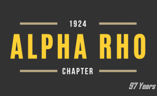 TAP IN: Alpha Rho's Zoom Zoom Zoom Link For 97th Charter Day -- Tuesday, January 5 2021, 9pm EST
