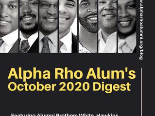 Alpha Rho Chapter Alumni Association's October 2020 Digest
