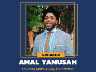 "AP's Amal Yamusah (Spr 2013) Launches ""Make A Play Foundation"" With Virtual Informational On June 27"