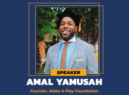 """AP's Amal Yamusah (Spr 2013) Launches """"Make A Play Foundation"""" With Virtual Informational On June 27"""