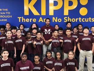 Brother Michael C. Webb (Fall 2010) Recognized In Teacher Spotlight For KIPP Houston Public Schools