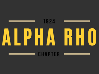 192 Alpha Rho Brothers Celebrate Chapter Anniversaries At Virtual Morehouse Homecoming 2020