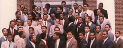 Alpha Rho Chapter in 1982