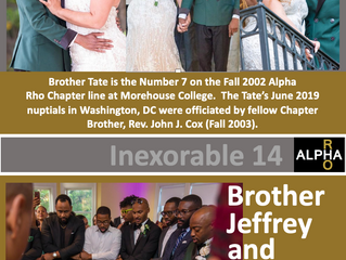 Congrats To Brother Jeffrey Tate -- Inexorable 14 -- Fall 2002