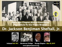 Jackson Benjiman Sheftall, Jr