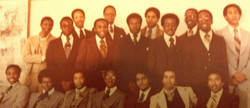 Alpha Rho Chapter in 1978